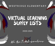 Virtual Learning Supply Lists