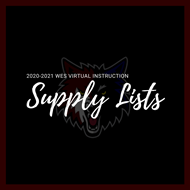 WES Supply Lists