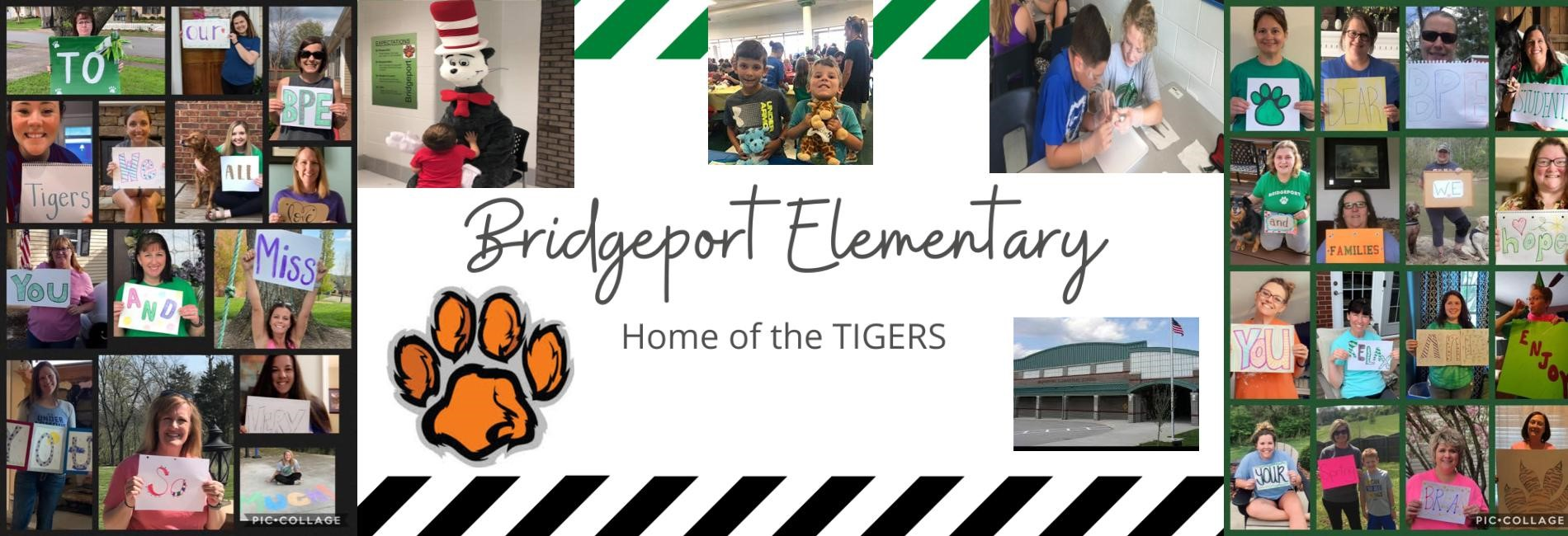 Bridgeport Elementary School, home of the TIGERS