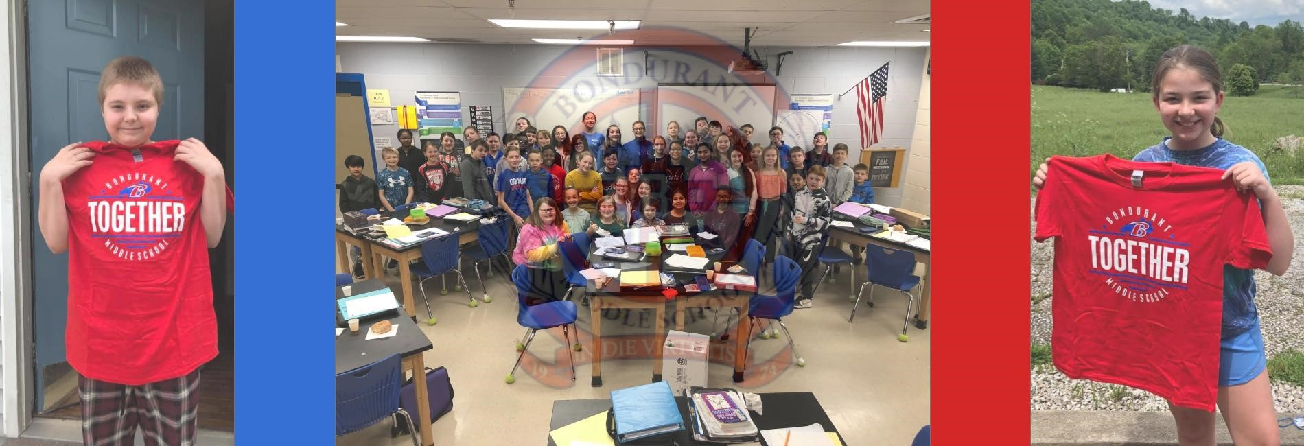 Bondurant Middle School Students